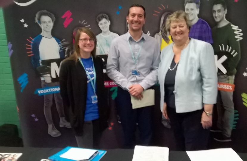 HW at Swadlincote Jobs Fair in 2016