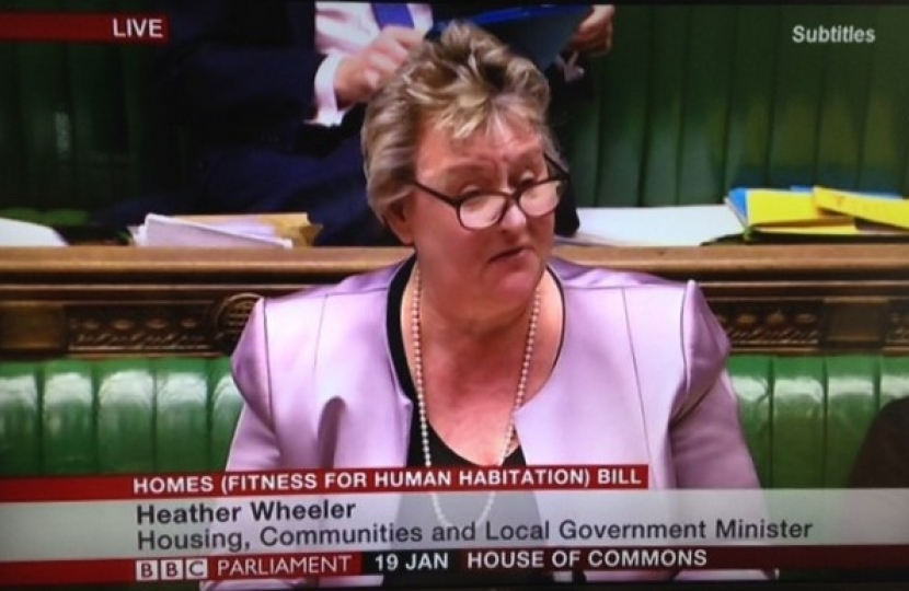 Heather Wheeler MP Speaking in the House of Commons Chamber