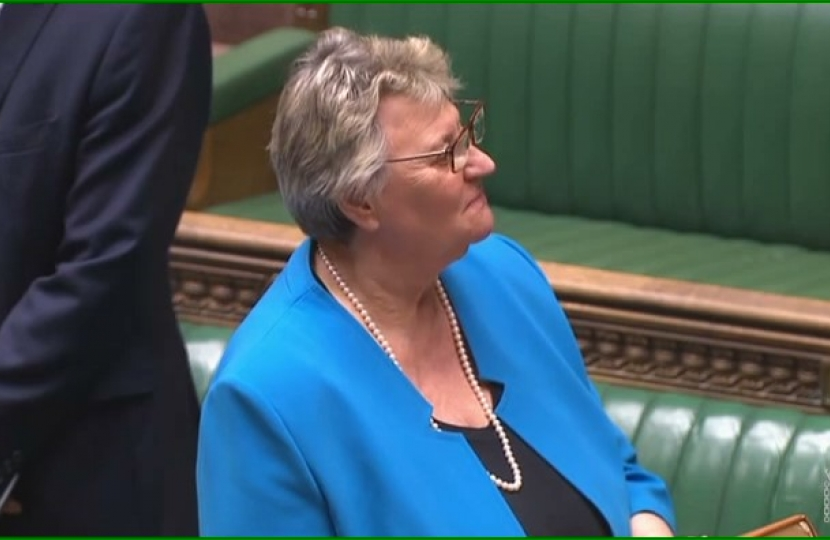 Heather Wheeler being sworn in as Member of Parliament for South Derbyshire