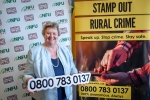 Heather Wheeler MP at the parliamentary launch of the NFU Rural Crime Reporting Line in Westminster